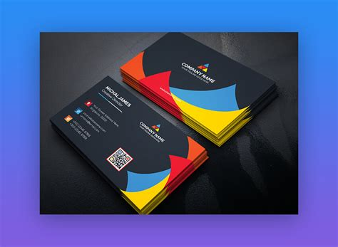 It can be used at atms, merchant outlets and online stores in india. 24 Premium Business Card Templates (In Photoshop ...