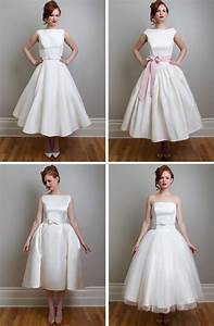 Vintage inspired tea length wedding dresses fancy new york for Vintage wedding gowns nyc