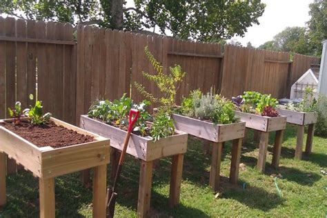 How Build Raised Garden Beds Legs Gardening