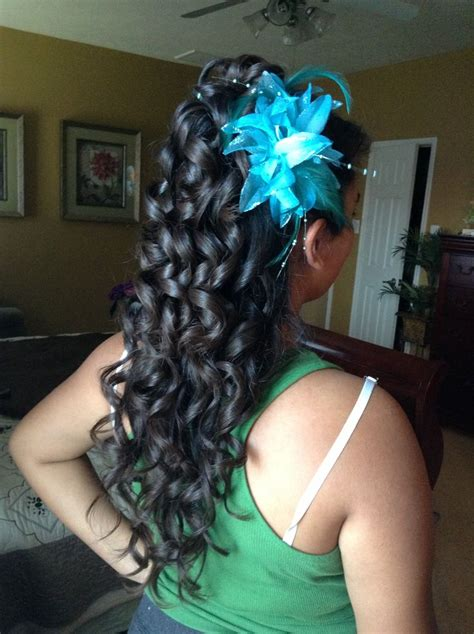 Quinceanera Hairstyles With Curls by Quinceanera Hairstyle Quincenera Hairstyles