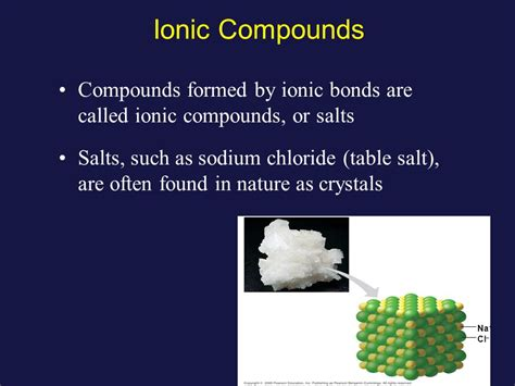 is table salt a compound chemistry ppt video online download