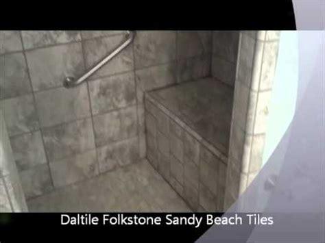 daltile folkstone sandy beach tiled bathroom shower