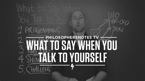 When You Say Nothing At All: PNTV: What To Say When You Talk To Yourself By Shad
