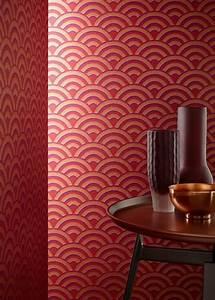 Papier Peint Art Deco : du papier peint art d co pour l 39 l gance marie claire maison ~ Dailycaller-alerts.com Idées de Décoration