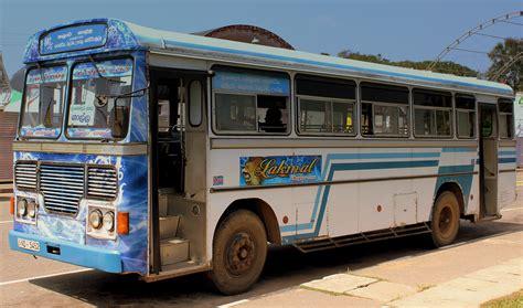 filelanka ashok leyland public bus galle sri lanka jan  jpg