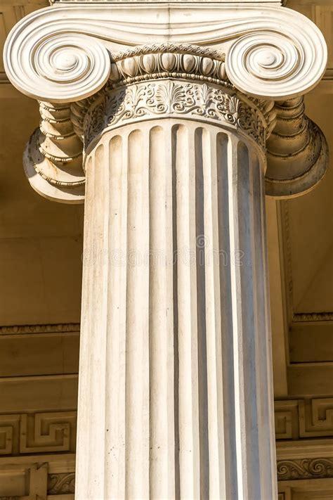 Coluna Grega Fotografia de Stock Royalty Free - Imagem: 25795127
