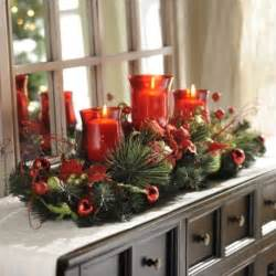 christmas floral candle centerpiece beautiful christmas candles and centerpieces