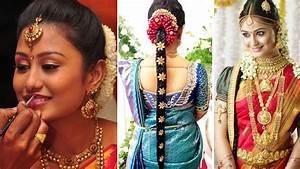 South Indian Bridal Saree Draping with Bridal Makeup and Bridal Hairstyle Tutorial Marriage