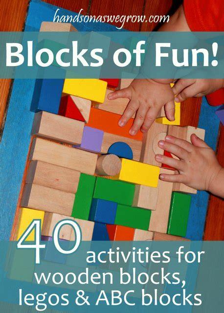 listening activity with blocks 321 | blocks of fun