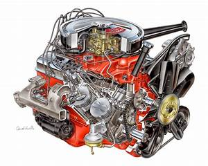 Small Block Chevy Engine Diagram  Small  Free Engine Image For User Manual Download