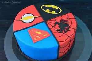 Coole Torten Zum Selber Machen : comic superhelden torte backen fondant motivtorte selber machen absolute lebenslust ~ Frokenaadalensverden.com Haus und Dekorationen