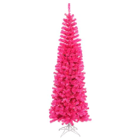 12 ft hot pink slim pencil pink mini lights 144 christmas
