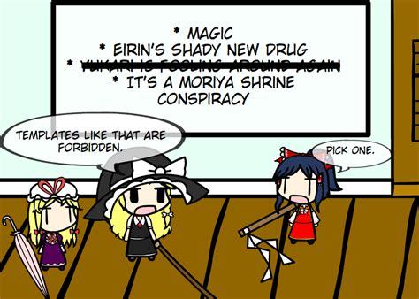 touhou forbidden template the age incident by aflyingcar on deviantart