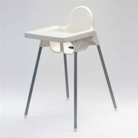 High Chair White Plastic for Hire from Well Dressed Tables