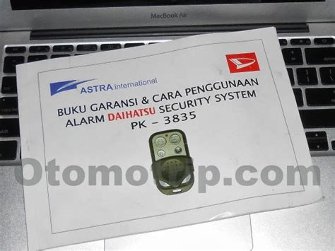 manual remote alarm pintu mobil avanza xenia lama otomotrip