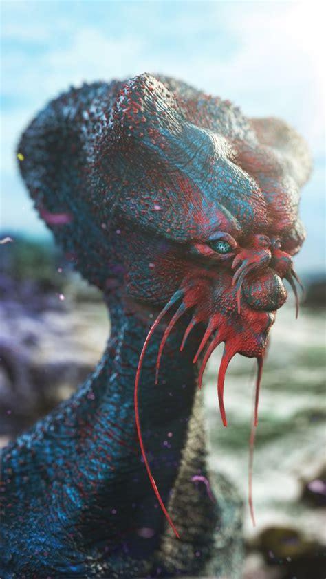 sea creature  anthony sieben alien creatures alien
