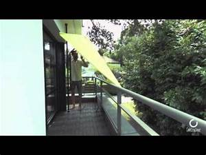 Parasol De Balcon Inclinable : parasol de balcon leo anis youtube ~ Premium-room.com Idées de Décoration