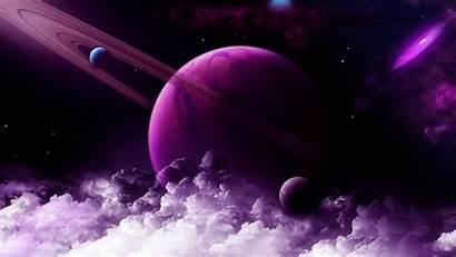 Saturn 4k Purple Planet Space 2k Wallpapers