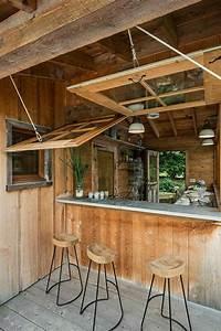 Bar En Bois : comment adopter le tabouret de bar dans l 39 int rieur moderne ~ Teatrodelosmanantiales.com Idées de Décoration