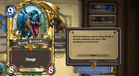 hearthstone beast deck hearthstone rating the legendary cards