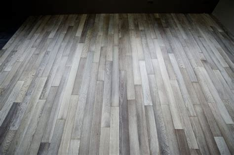 staining laminate wood floors img movbleached white oak and stained by wood flooring nj grey stained floors in uncategorized
