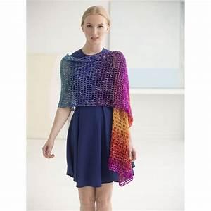 Free Pattern Lion Brand Shawl In A Ball Openwork Crochet