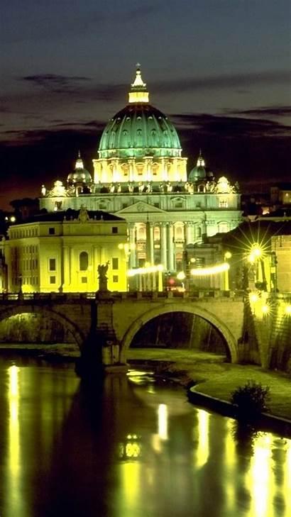 Vatican St Basilica Peters Wallpapers Rome Bridge