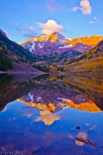Colorado Maroon Bells Sunrise