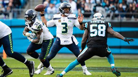 seahawks show offensive balance  week  victory
