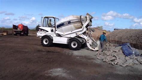 fiori concrete mixer self loading concrete mixer fiori db460b dompu sugar
