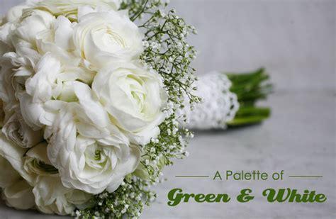 Green + White Wedding Ideas