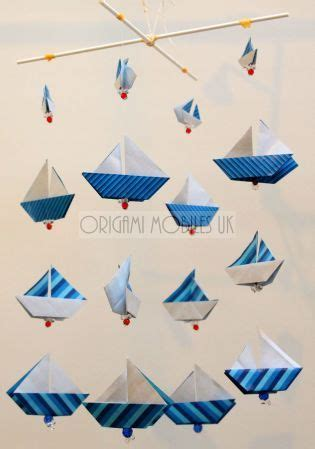 Origami Boat Mobile by 17 Best Images About Origami Mobiles Uk On