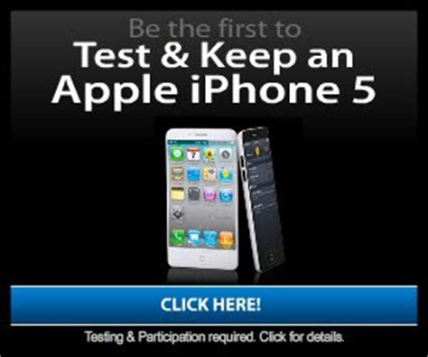 how to get a new iphone brand new iphone 5 get a free apple iphone 5 free stuff