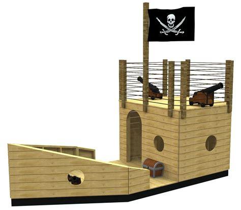 crippling clipper pirateship plan   beach backyard playhouse outdoor kids playhouse