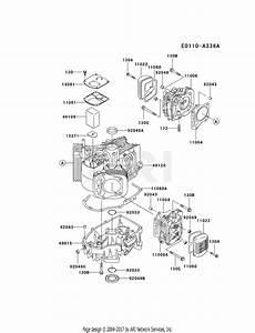 Kawasaki Fh531v Crankcase