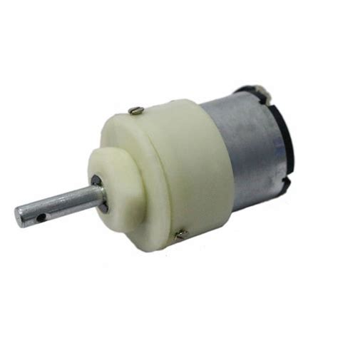 Define Electric Motor by Adraxx 100 Rpm 12v Dc Geared Motor White Rs 139