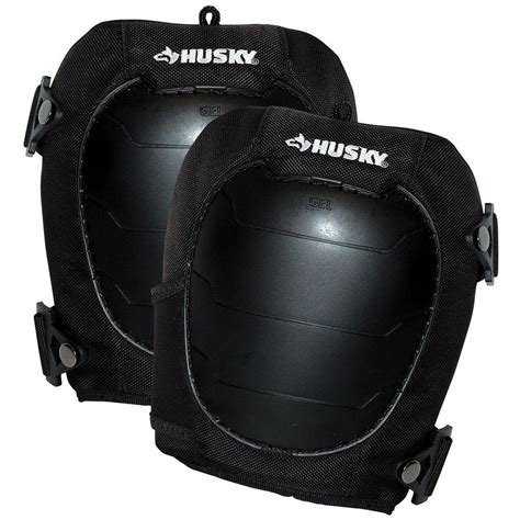 husky gel hard cap knee pad hd00114 the home depot