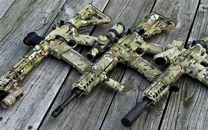 Ar Multicam Ar15 Rifle Armas Assault Gun