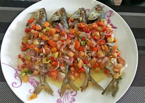 resep ikan bakar sambal dabu dabu oleh sarah cookpad