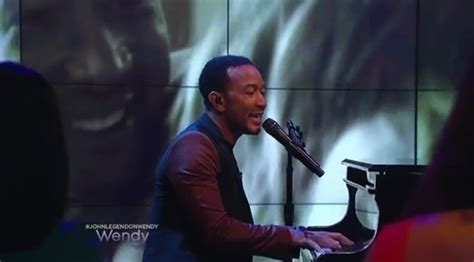 John Legend Performs 'all Of Me' On The Wendy Williams