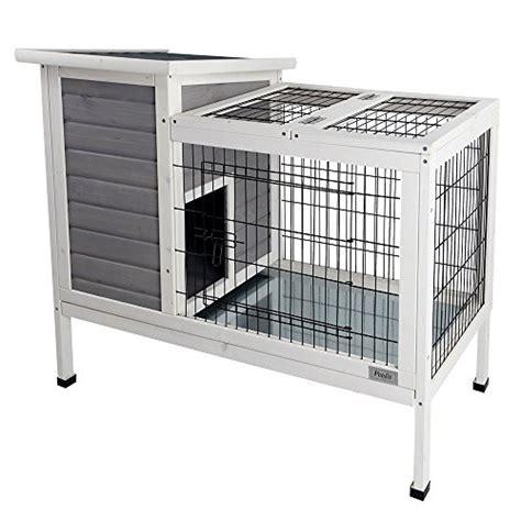 Indoor Wooden Rabbit Hutch - petsfit 36 quot lx20 quot wx30 quot h rabbit hutch grey guinea pigs cage