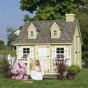 La cabane de jardin pour enfant est une idée superbe pour votre jardin!