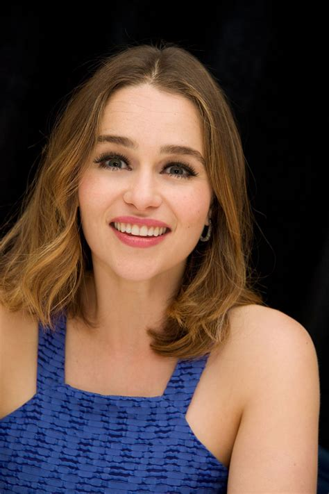 She has also stared in terminator genisys. Emilia Clarke - 'Me Before You' Press Conference Portraits in New York City, May 2016