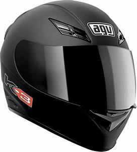 Agv K3 Mono Full Face Helmet Flat Black