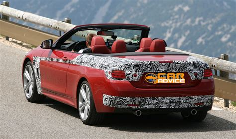 Bmw 4 Series Convertible Photo by Bmw 4 Series Convertible Spied With Its Roof Photos