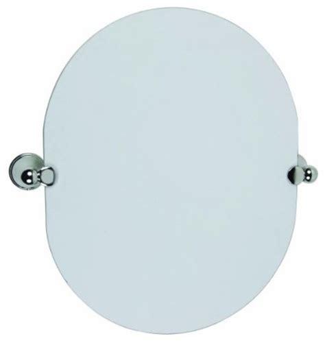 pivot bathroom mirror chrome allante oval pivot mirror polished chrome modern
