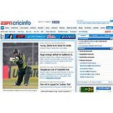 ESPN Cricinfo provides the most comprehensive. cricket coverage ...