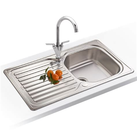 Franke Elba 10 Bowl Polished Stainless Steel Kitchen Sink