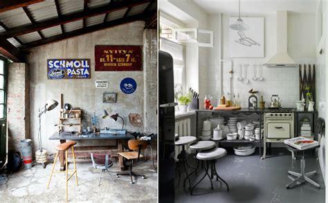 cuisine style industriel loft tabouret de bar industriel la vedette indiscutable dans