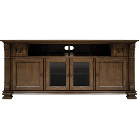 Bell'o Pr36 Mocha Finish Wood Home Entertainment Cabinet Pr36